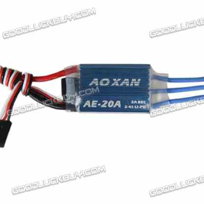 AE 20A Brushless ESC 2-4Lipo/5-12NIMH 2A BEC for Quadcopter