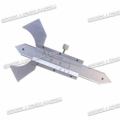 0-12.5mm Welding Gauge Weld Inspection Gage Weld Seam Bead/Fillet/Crown Test Ulnar Ruler