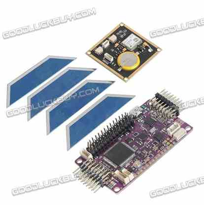 Side Pin APM2.6 ArduPilot Mega 2.6 External Compass APM Flight Controller w/ NEO-6M GPS for Multicopter