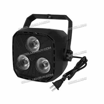 4Pcs Led Par Uplighting RGBW 8CH DMX512 Sound Control Wall Wash DJ Stage Light
