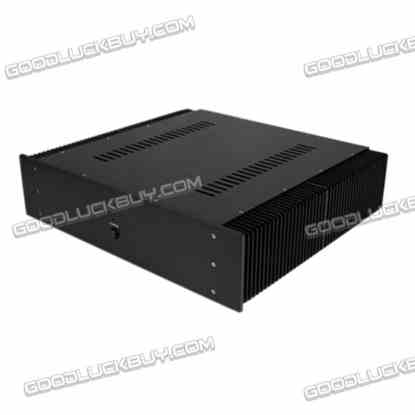WA16 DAC Amplifier Aluminum Box Shell Case 430*463*113mm
