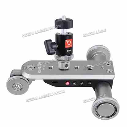 Chargeable Motorized Electric Track Slider Dolly Car Video Pulley Rolling Camera
