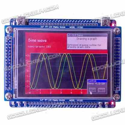 """Mini STM32 STM32F103VCT6 Develop Board+3.2""""TFT Touch LCD"""