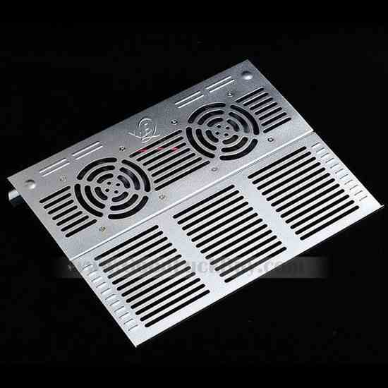 USB 2 Fans Cooler Cooling Pad for Laptop Notebook