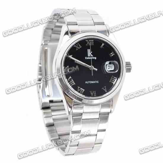 IK Colouring Automatic Mechanical Lady Wrist Watch Stainless Steel 98080
