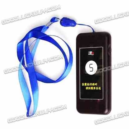 1 Restaurant Coaster Pager Guest Call Receiver for Paging Queuing Calling System