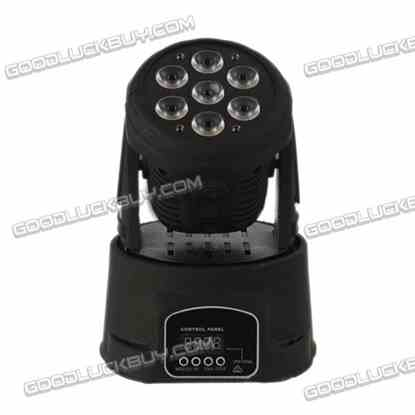 4 in 1 10W DMX512 6 Channels LED Rotating Beam Effect Moving Head DJI Stage Light