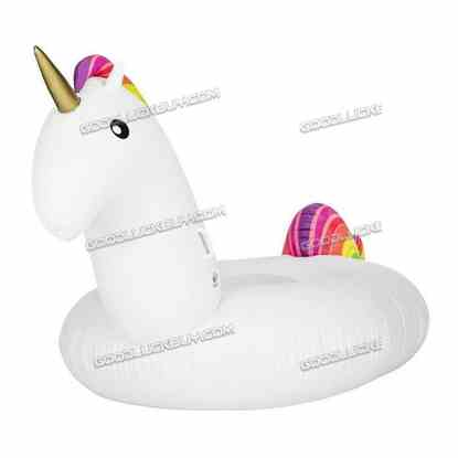 """78"""" Rideable Inflatable PVC Unicorn Swimming Pool Party Outdoor Water Toy"""