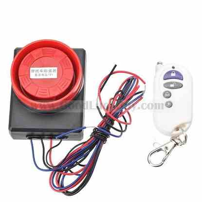 Alarm Security System Horn & Host for Motorcycle Eelectric Vehicle