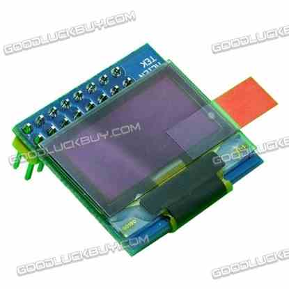 OLED Blue Color 0.96 Inch Display Screen Module 128*64 for STM32 Board