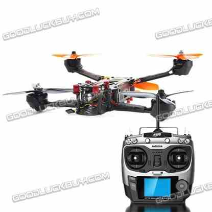 Foxtech Screamer 250 FPV Racing Quadcopter Drone RTF with Radiolink AT9 Radio Controller