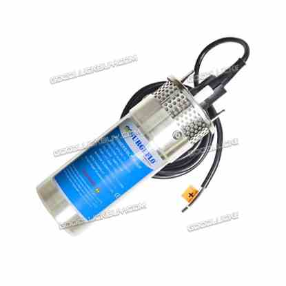 """4"""" SPX-24 Stainless Shell Submersible 3.2 GPM Deep Well Water Pump Solar Battery 24V DC"""