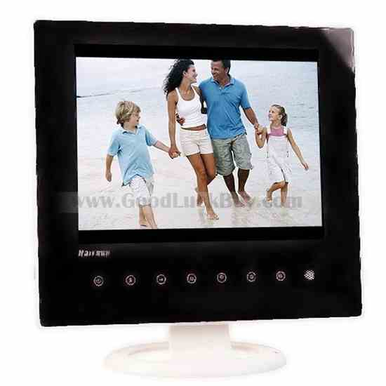 """8"""" inch LCD Screen Digital Photo Frame Picture Video Music Player 518"""
