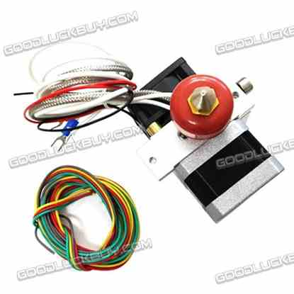 12V Thermocouple 0.4mm Single Nozzle Extruder Kit for 3D Printing Printers