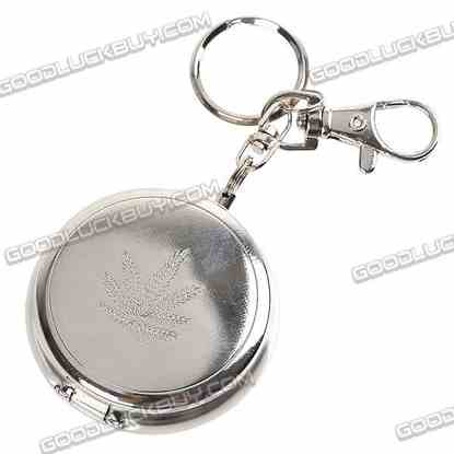 Environment-Friendly Pocket Ashtray Keychain