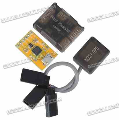 Acro Afro Mini Naze32 NAZER 32 10DOF Flight Controller with N32+ GPS for FPV Multicopter