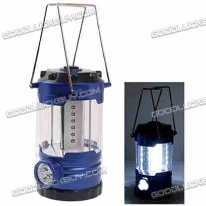 23 LED Adjustable Brightness Portable Camping Lamp Built-in Compass