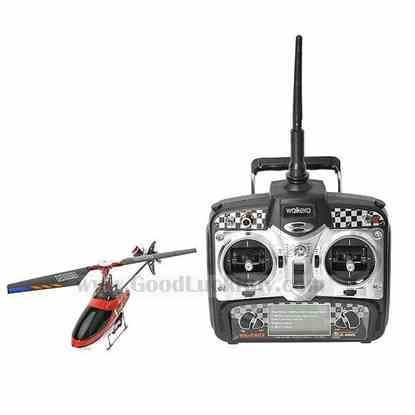 Walkera V100D01 Flybarless Fixed Pitch Helicopter with 2403 PRO Transmitter
