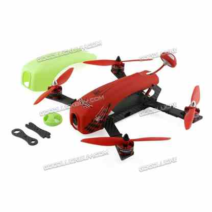 Kingkong DIY SPIDER 260 Mini Racing Drone Quacopter with Camera PNP