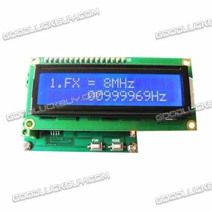 Frequency Meter High Frequency 10MHz-2.4GHz / LF 0-50MHz + Counter