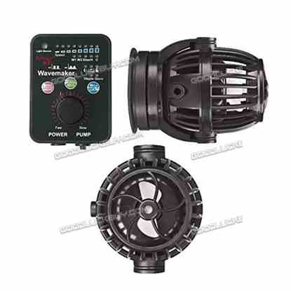 2 Packs Jebao RW20 PP20 Reef Wave Maker with Controller Powerhead Pump
