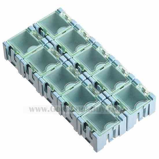 Cubic Configurable Storage Toolboxes (10 pack)