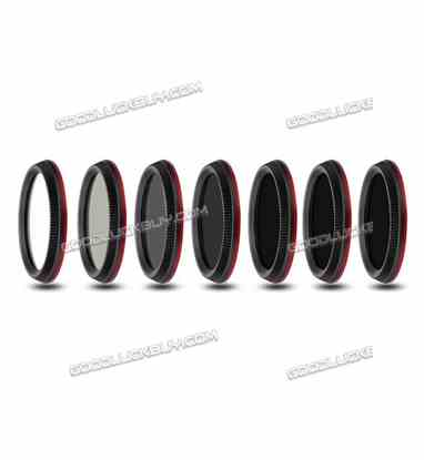 7pcs ND2-400 ND4 ND8 ND16 ND32 ND64 CPL MC-UV Lens Filter for DJI OSMO X3 inspire1 Camera