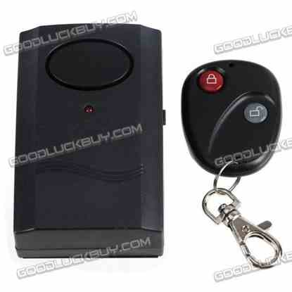 Infrared Wireless Remote Control Vibration Alarm for House Door Window Car Room