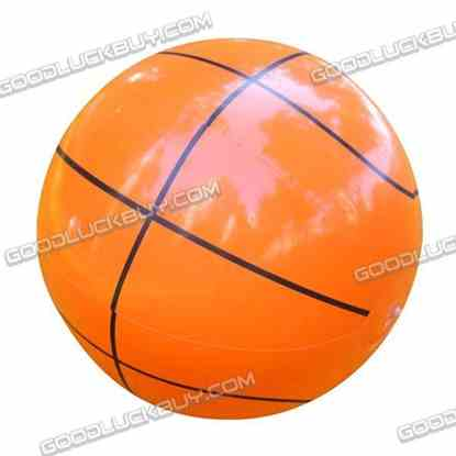 """12.5"""" Inflatable Toy Beach Ball Inflate Pool Happy Basketball"""