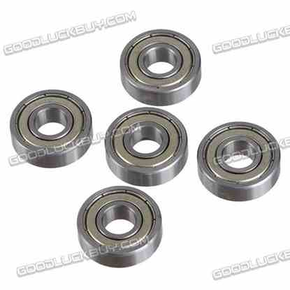 10*26*8mm Micro Ball Bearing 6000 for RC Model Motor Toys 5-Pack