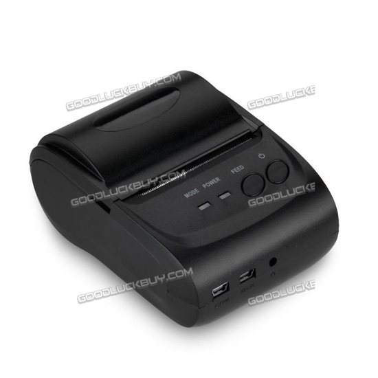 POS-5802LD 58mm Thermal Bluetooth Wireless Mobile Thermal Receipt Printer Support Android