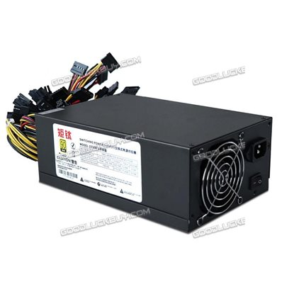 2350W Power Supply for 8 GPU Eth Rig Ethereum Coin Mining Miner