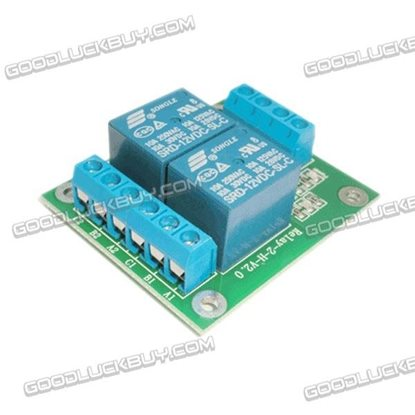 Dual Channel 12V Remote Control Switch Relay High Level Trigger Relay-2-H-12V