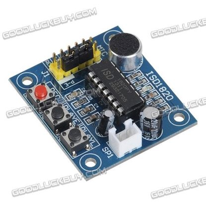 ISD1820 Voice Audio RP Record Playback Module Onboard Mic