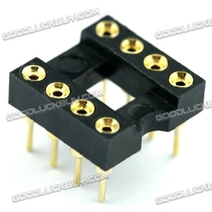 BIOS Chip DIP8 to SOP8 2.54mm to 1.27mm Adaption Plate Board Set