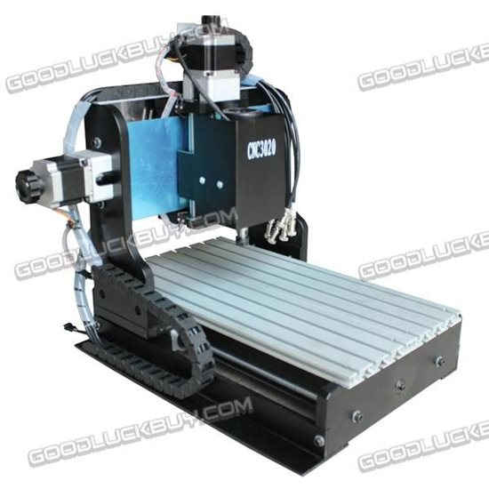 CNC 3020T-D240 240W 80mm Z-axis Router Engraver Engraving Drilling Milling Machine
