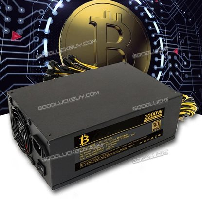 2000W Mining Power Supply for ETH Ethereum Rig Bitcoin BTC Miner S7 S9 L3+ D3