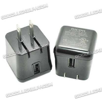 Ricoh 5V 2.1A USB AC Power Adapter for Portable Power Bank MID
