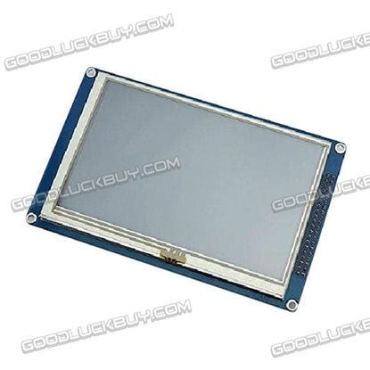 5'' 16M 800*480 TFT LCD Touch Screen Module 51/AVR/STM32 Drive