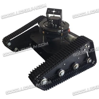 Robo-Soul TK-210 Creeper Truck Crawler RC Robot Base Kit w/2DOF Camera Mount & LD-1501MG Servo