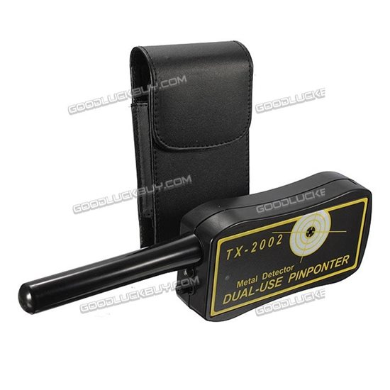 TX-2002 Dual-use Handheld Metal Detecting Pinpointer ProbeDetector w/ Belt Pouch