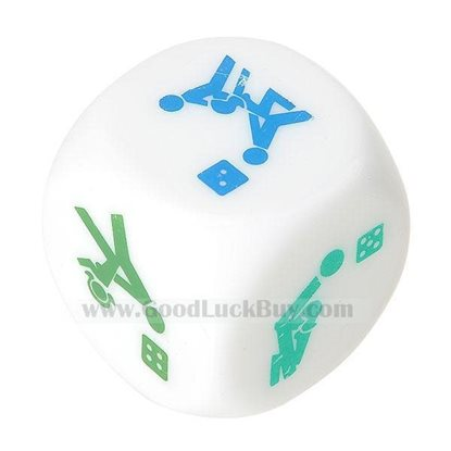 Naughty Intimate Truth-or-Dare Dice (Small) 2pcs