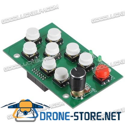 CNC USB Manual Control Panel for 3-Axis 4-Axis MK1 Controller Board