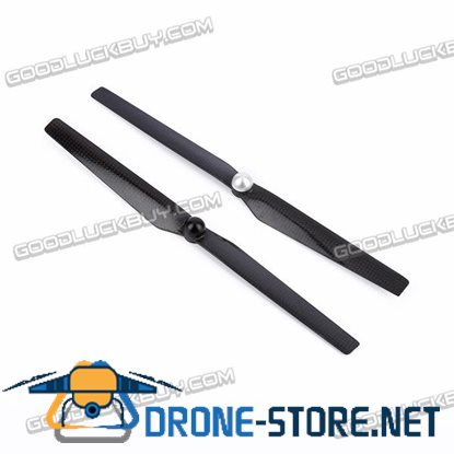 1303 Quick Release Carbon Fiber Self-locking CW CCW Propellers Props for YUNEEC Q500