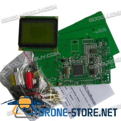 DSO062 Mini Digital Oscilloscope 1MHz Analog Bandwidth 20MSa/s DIY Kits Unassembled with Power