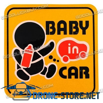 Car Decals Baby in the Car Auto Decoration Sticker 2PCS