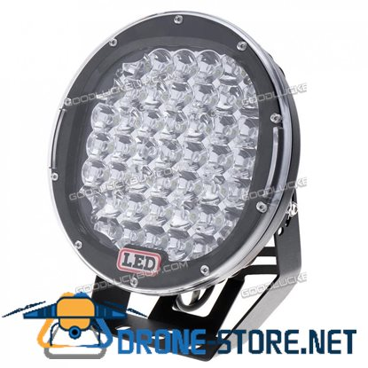 "9"" 225W Car LED Work Light Driving Fog Lamp JEEP 4WD SUV Off-road Black"