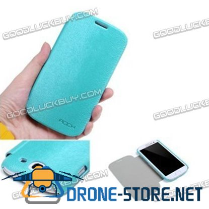 Rock High End Flip PU Leather Pouch Case For Samsung Galaxy S3 i9300 Cellphone