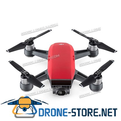 DJI Spark Alpine Quadcopter Drone 12MP 1080P Video Red