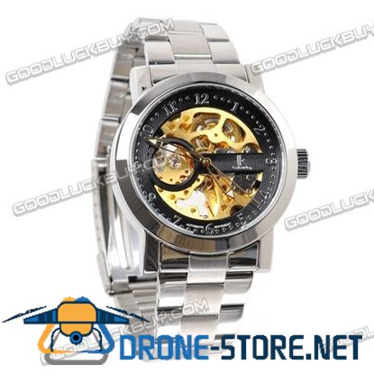 IK Colouring Automatic Mechanical Men Wrist Watch Stainless Steel 98221